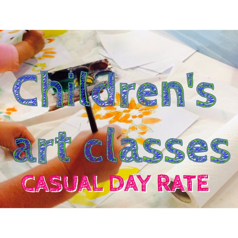 Image of Children's Art Classes - Casual Class