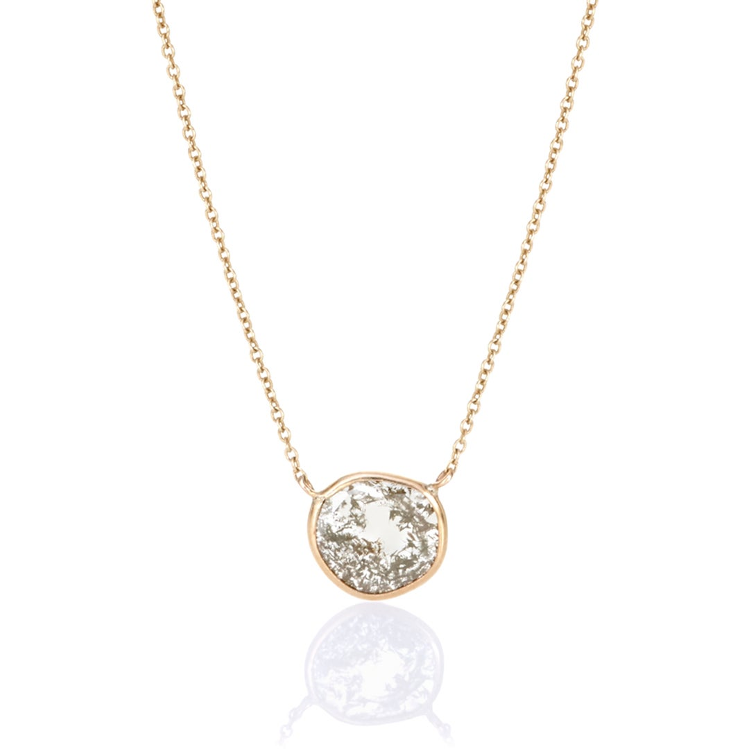 Image of Diamond Slice Necklace