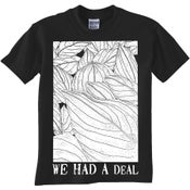 """Image of We Had A Deal: """"Leaves""""-shirt"""