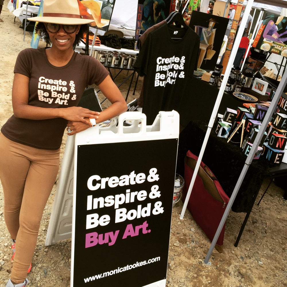 "Image of Art Just For You! MT ""Create & Inspire & Be Bold & Buy Art."" Tees"