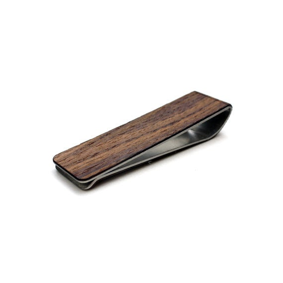 Image of TIMBER Hudson Wood Skin Money Clip