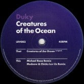 Image of Duky- Creatures of the Ocean (limited vinyl only release)