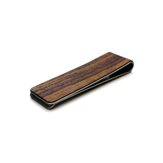 Image of TIMBER Brooklyn Wood Skin Money Clip