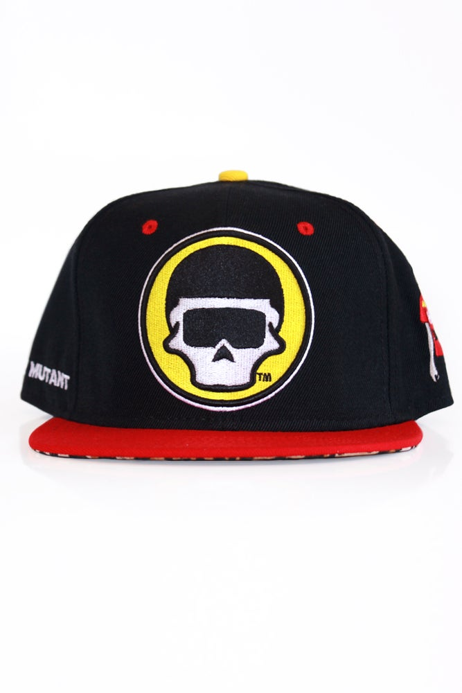 Image of The FM Black Cheetah Snapback