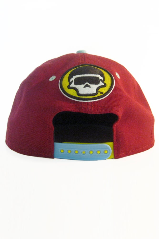 Image of The FM Crimson Cheetah Snapback Hat