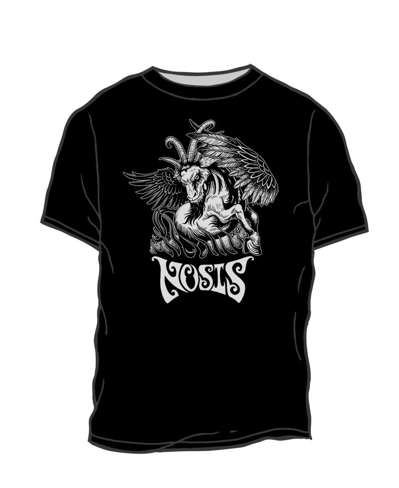 Image of Winged Goat Men's T-Shirt