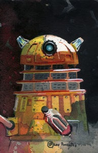 Image of (Daily Painting) The Dalek