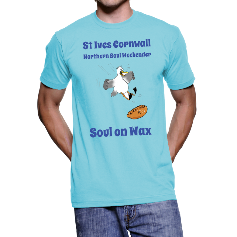 Image of The UNOfficial St Ives Cornwall 2018 Soul Weekender T Shirt