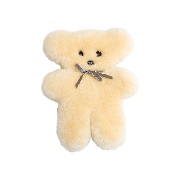Image of Sheepskin Teddy Bear