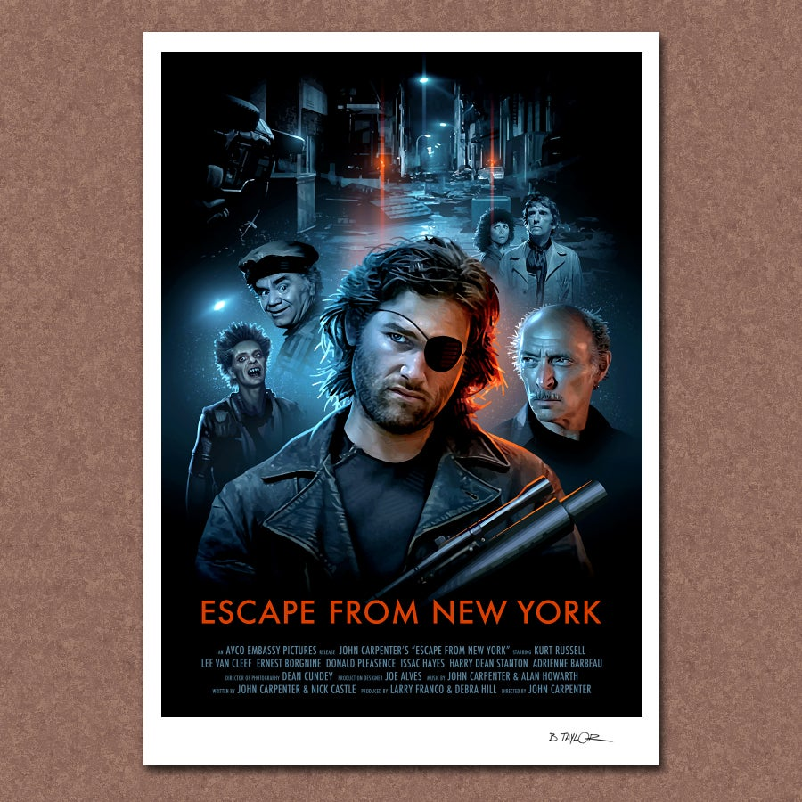 Image of Escape from New York Poster
