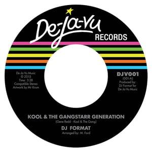 Image of DJ Format - Kool & The Gangstarr Generation DJ DOUBLES