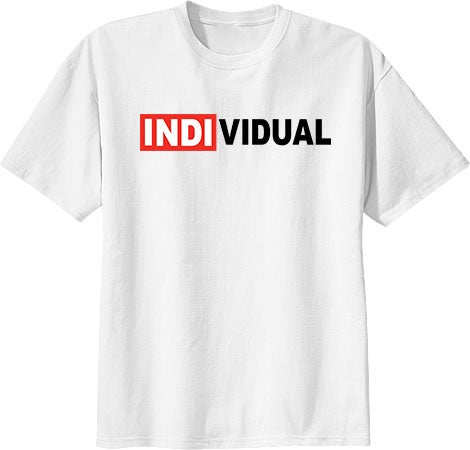 Image of INDI TEE WHITE