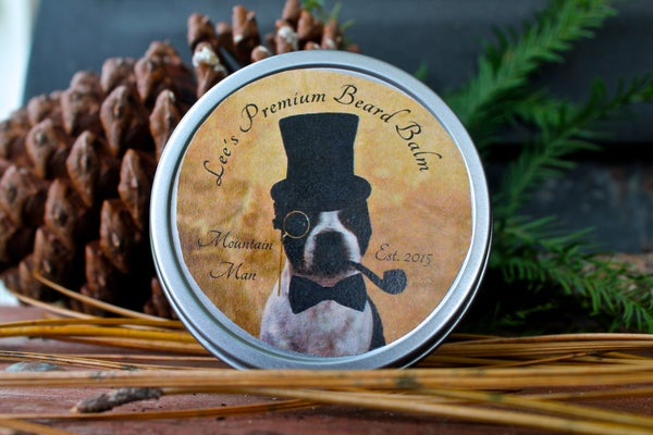 Image of Lee's Premium Beard Balm - Mountain Man