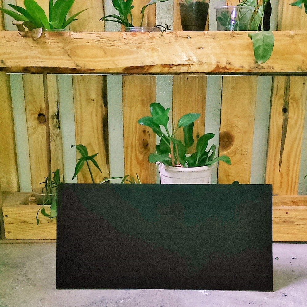 Image of Frameless Table Top Chalkboard(48cm X 23cm)