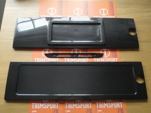 Image of Trimsport VW Corrado Carbon Fibre Rear Number Plate Holder