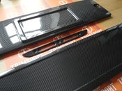 Image of Trimsport VW Corrado Carbon Fibre US Spec Rear Number Plate Holder