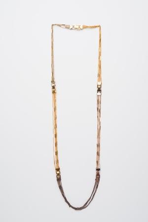 Image of gourmette 5 rangs par 5 /5-Band simple-cuff bracelet