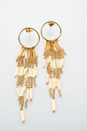 Image of Boucles d'oreilles Longues Waterfall / Long Earing
