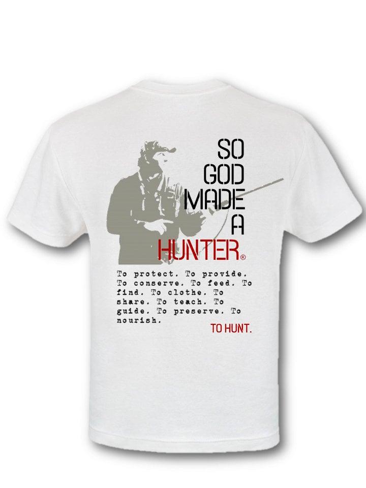Image of So God Made a Hunter® T-Shirt