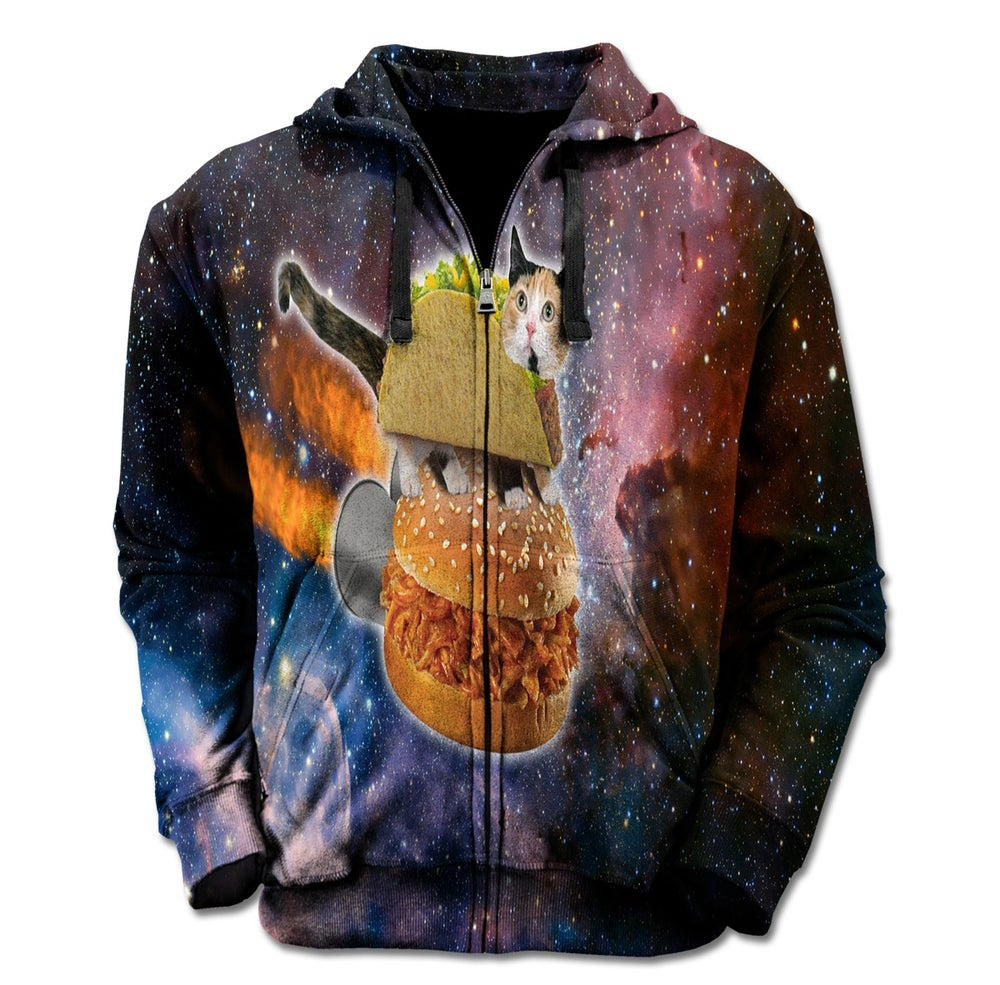 Image of Meow And Munchies Zip Up