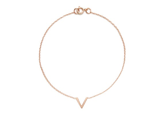 Image of MINI VIOLET BRACELET : ROSE GOLD