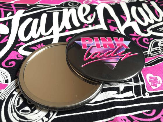 Image of Pink Lady Pocket Mirror