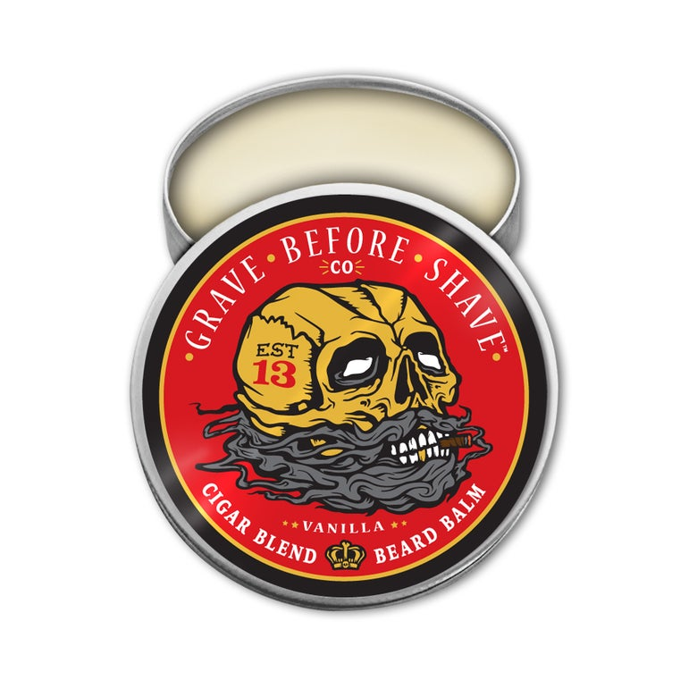 Image of GRAVE BEFORE SHAVE™ Cigar Blend Beard Balm