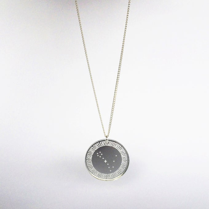 Image of Custom Silver ZODIAC CONSTELLATION Necklace