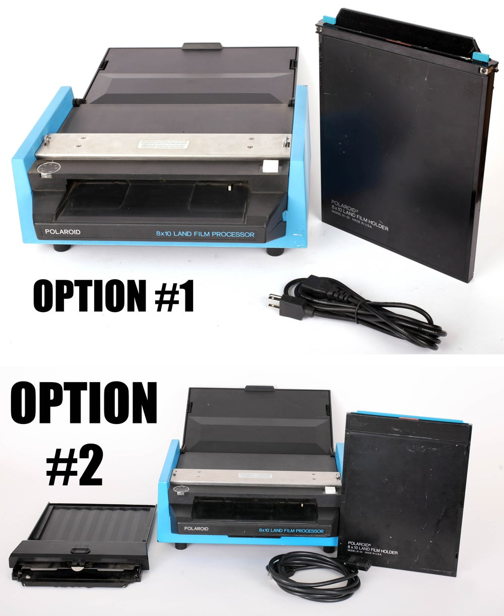 Image of Polaroid 8X10 Processor Kit (two options)