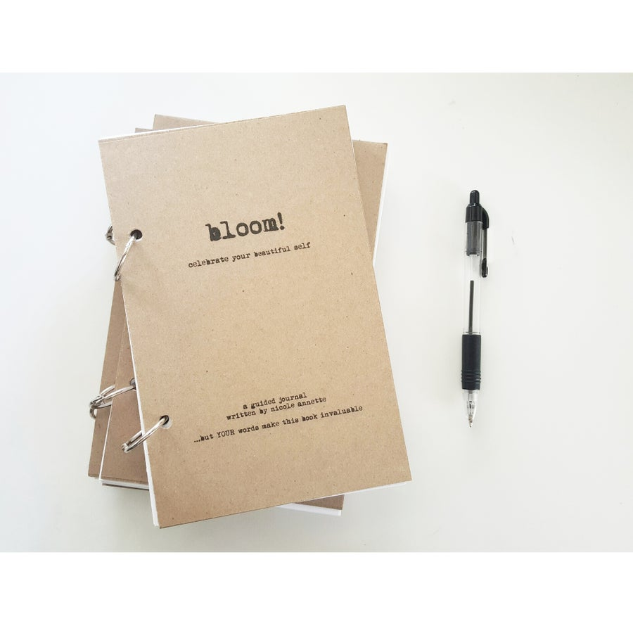 Image of BLOOM! Celebrate Your Beautiful Self-Guided Journal by Nicole Annette-TAB