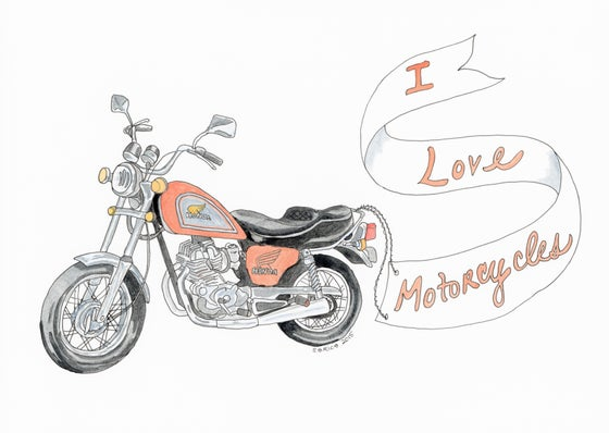 Image of I Love Motorcycles