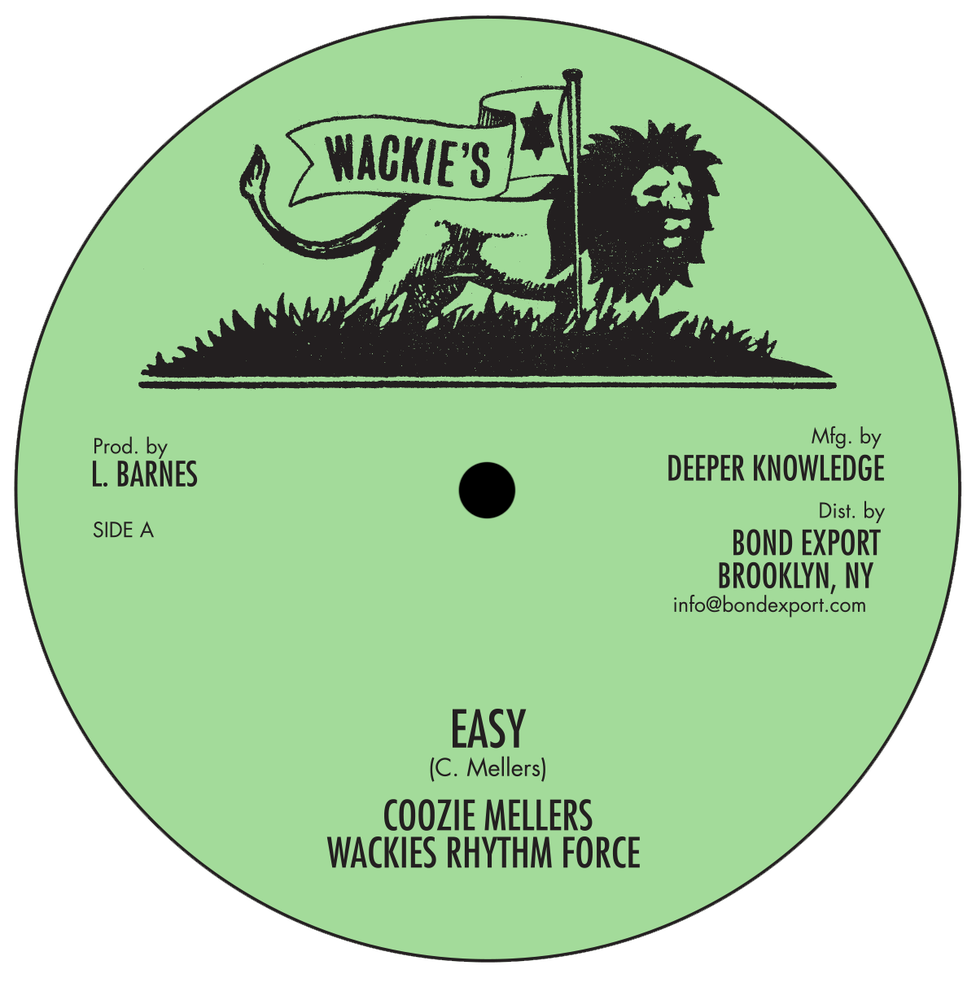 """Image of Coozie Mellers - Easy / You Move 10"""" (Wackie's)"""