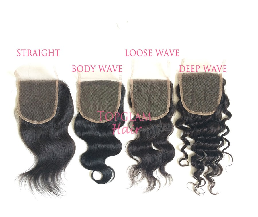 Image of 4 x 4 lace closures