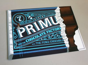 Image of Primus & The Chocolate Factory poster (Show) Reno NV. 09/07/15