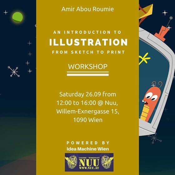 Image of Eine Einführung in Illustrationen - Von der Skizze zum Druck