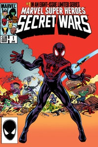 Image of SECRET WARS #1 2015 HeroesCon Variant by Mike Zeck & John Beatty