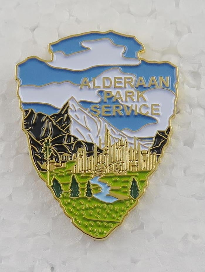 Image of Alderaan Park Service Series #8 Lapel Pin