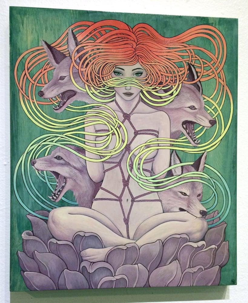 Image of Bodhisattva Bound - Original Painting