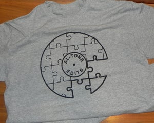 Image of Al-Tone Edit T-Shirt (Heather Grey)