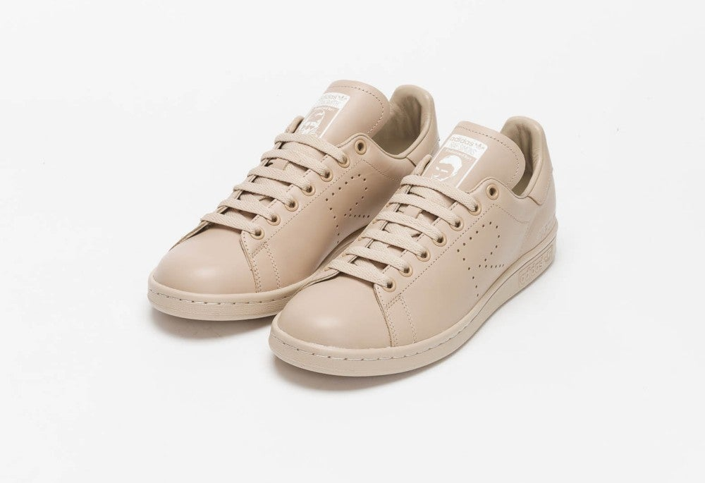 raf simons adidas stan smith dust sand