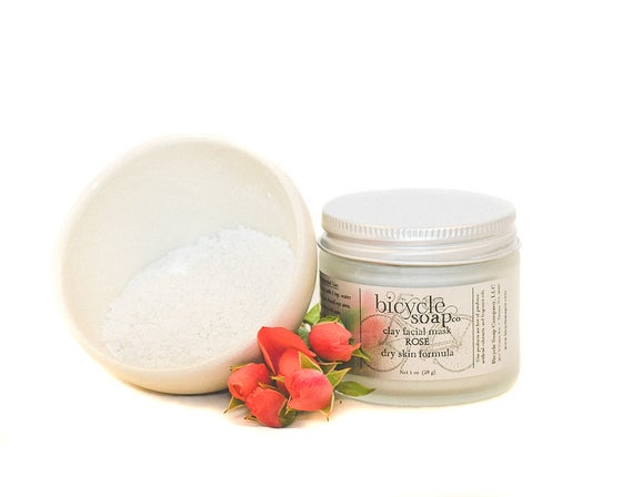 Image of Rose Mineral Clay Facial Mask