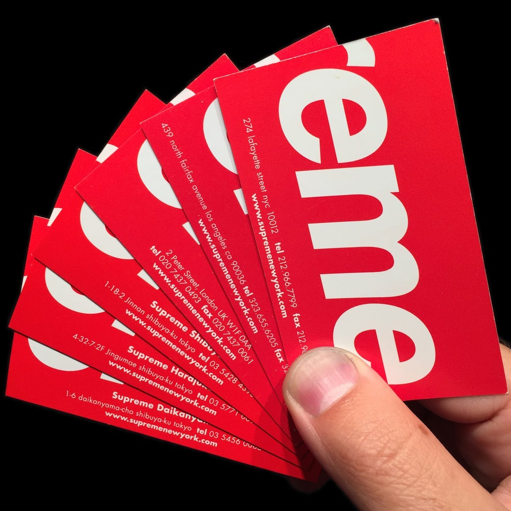Image of 0000 Business Cards (US & EU)