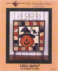 Image of October Scare Mini Quilt Pattern