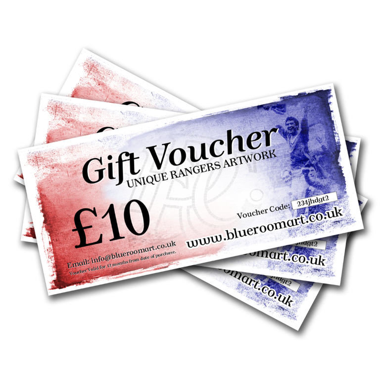 Image of Gift Voucher for Rangers Fans