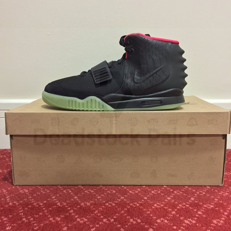 73691629c Image of Nike Air Yeezy 2 NRG Solar