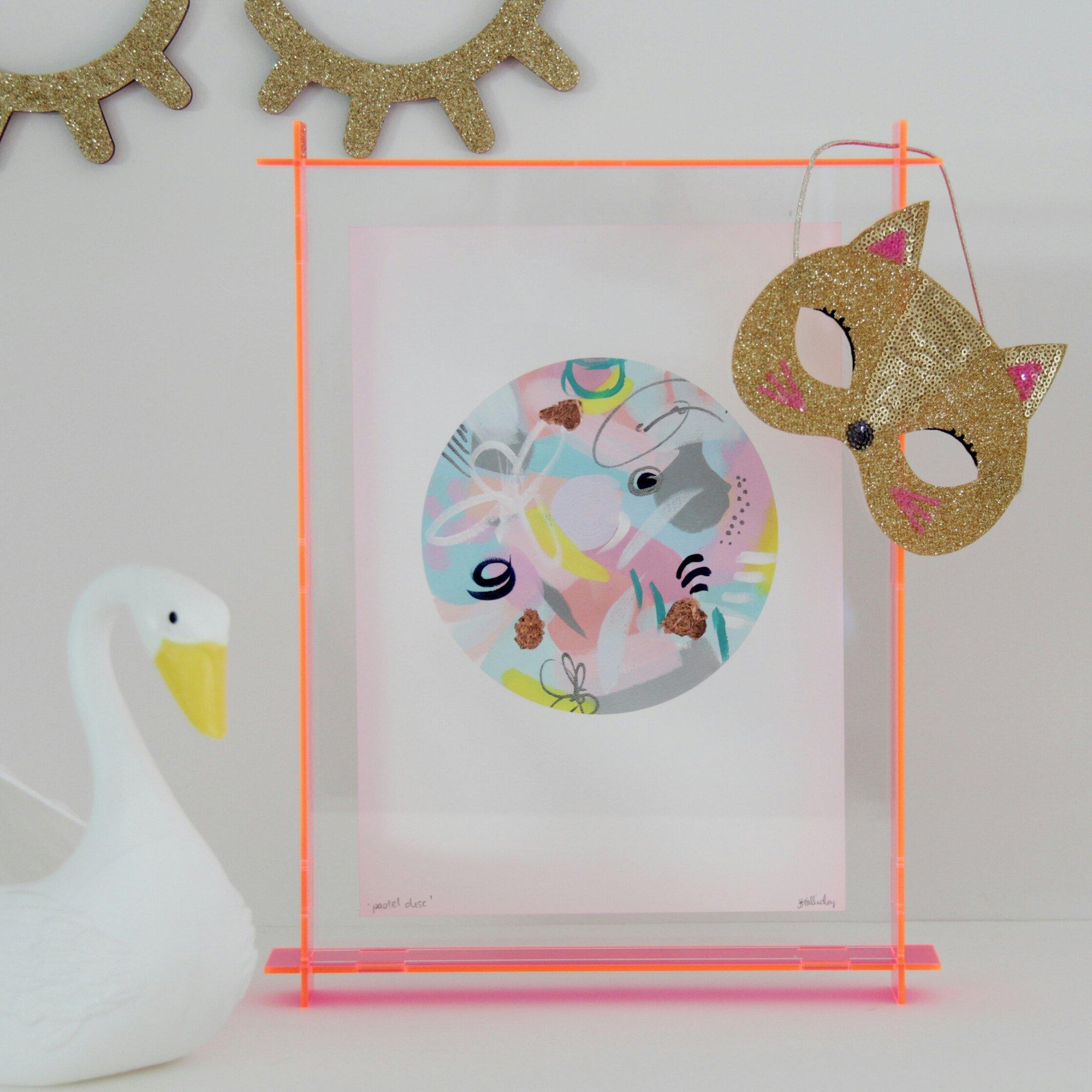 ac39b294b1a Lovestar Acrylic Neon Frames Rebecca Judd Loves Melbourne. Image Of A4  Acrylic Box Frame Fluro Pink Transpa. Lecky A4 Acrylic Box Frame Fluro Pink  Transpa