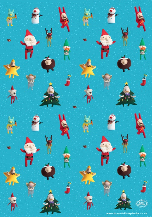 Image of Wrapping paper mix up (10 sheets)