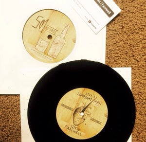 "Image of Knocksville 7"" Vinyl"