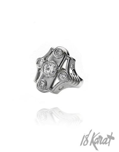 Barbara's Diamond Ring - 18Karat Studio+Gallery