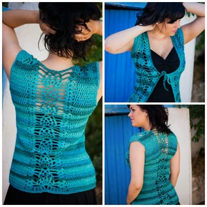 Image of Pineapple Knot Vest